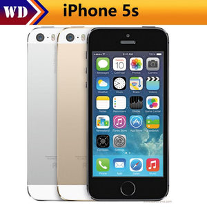 "Original Unlocked Apple iPhone 5S Mobile Phone iOS A7 4.0"" 8MP IPS HD GPS 16GB 32GB ROM Used Cell Phones iPhone5s"