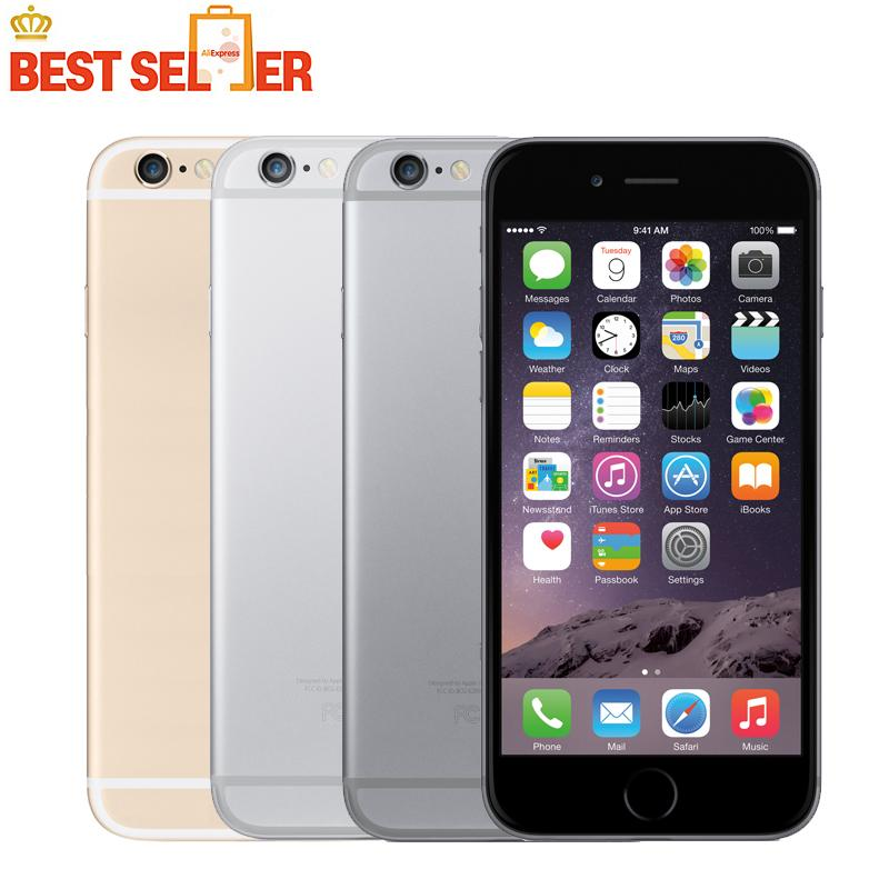 Original Apple iPhone 6 Unlocked IOS Smartphones 4.7 inch Touch Sreen Dual Core LTE WIFI Bluetooth 8.0MP Camera Mobile Phone