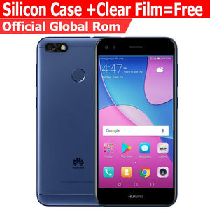 Huawei Nova lite 2G 16G  Enjoy 7 Mobile phone Octa core 5.0 inch Android 7.0 3020 mAh 5.0MP 13.0MP Fingerprint ID