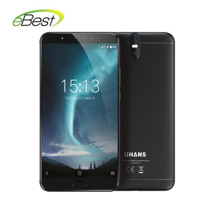 UHANS Max 2 4G Smartphone 6.44 inch FHD 4GB RAM 64GB ROM MTK6750T Octa Core 4300mAh 13MP+2MP Front Dual Cameras Mobile Phone