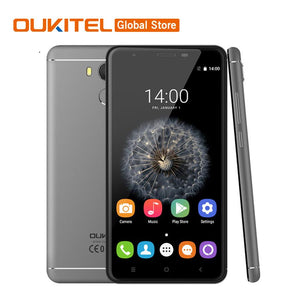 "In Stock Oukitel U15 Pro MT6753 Octa Core 1.3GHz 4G LTE 3000mAh 5.5"" HD 3GB RAM 32GB ROM 16.0MP Fingerprint ID Mobile Phone"