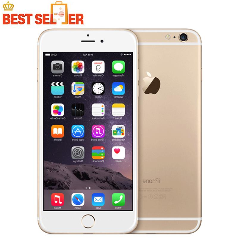 Apple iPhone 6 Original Unlocked IOS Smartphones 4.7 inch Touch Sreen Dual Core LTE WIFI Bluetooth 8.0MP Camera Mobile Phone
