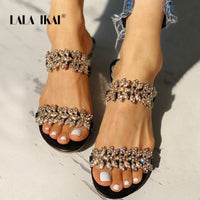 Crystal Bling Beach Slippers