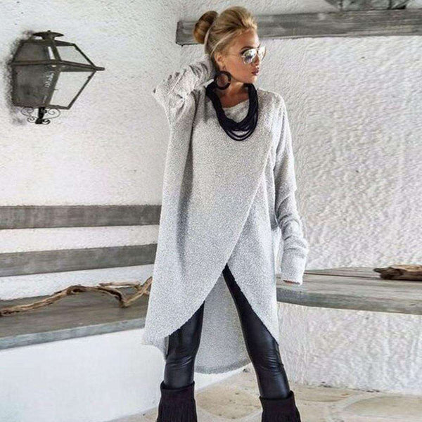 Irregular Loose Sweatshirt Pullover