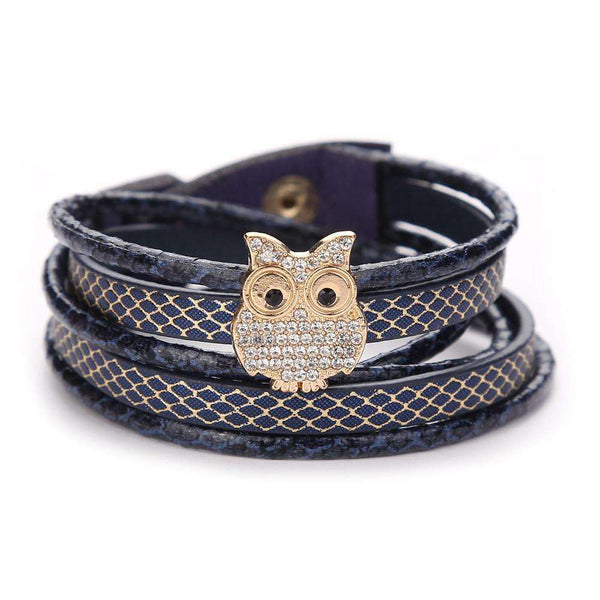 Multilayer Handmade Leather Bracelet