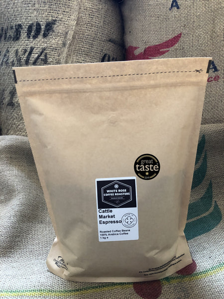 Great Taste Awards 2019 - Cattle Market Espresso Wins 1 Star