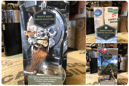 Promote Locally Roasted Coffee with White Rose Coffee Roasters POS