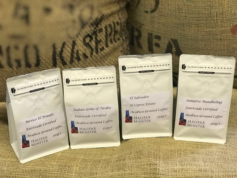 White Rose Coffee Roasters Retail Packs