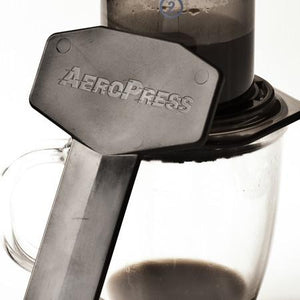 Gift Pack Aerobie Aeropress Plunger Coffee Brewer including Mexican and Peru ground coffee