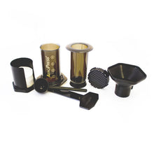 Load image into Gallery viewer, Gift Pack Aerobie Aeropress Plunger Coffee Brewer including Mexican and Peru ground coffee