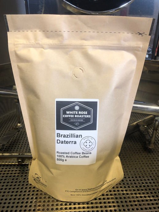 Brazillian Deterra Yellow Bourbon Fermented Arabica Roasted Coffee (500g)