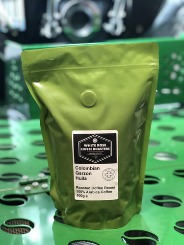 Colombian Garzon Huila Arabica Roasted Coffee