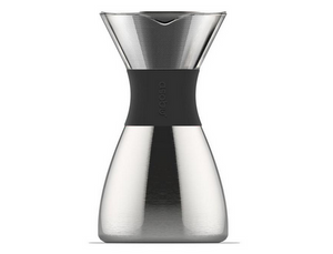 Asobu Pour over Coffee Brewer with insulated coffee flask in Silver