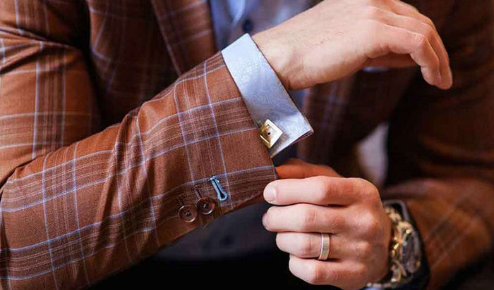 The Correct Way to Wear Cufflinks