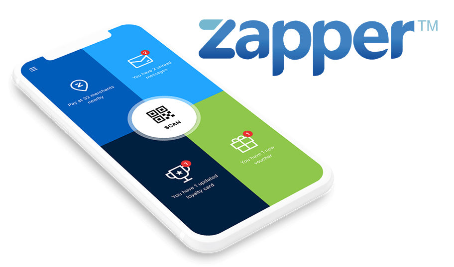 We Now Accept Zapper