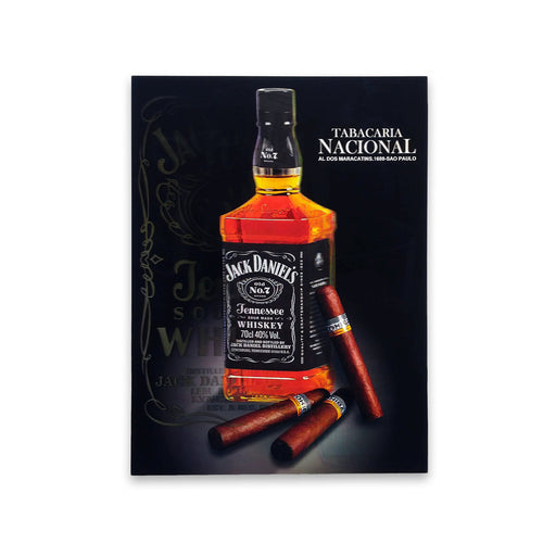 Sigars Jack Daniels Whiskey 5D Picture Lenticular Print Medium