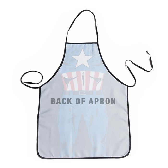 Superhero Apron Image Back