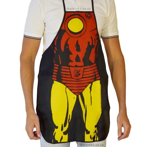 Superhero Apron Iron Man Image 1