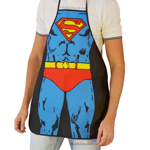 Superhero Apron Superman Image 1