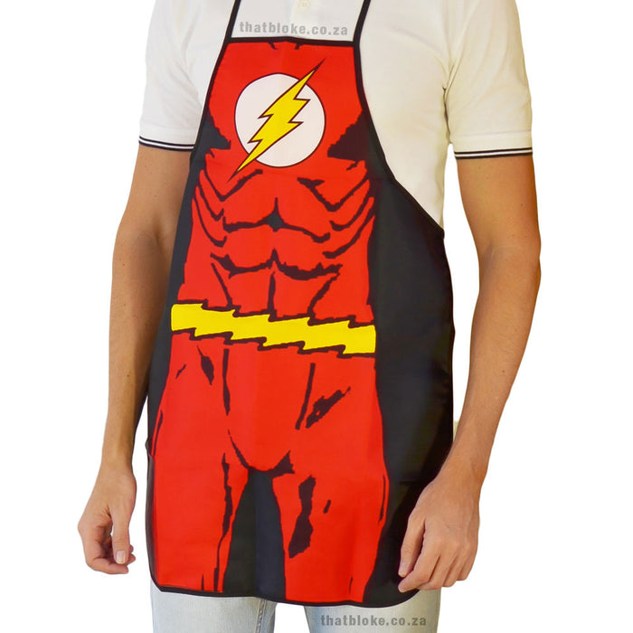 Superhero Apron The Flash Image 1