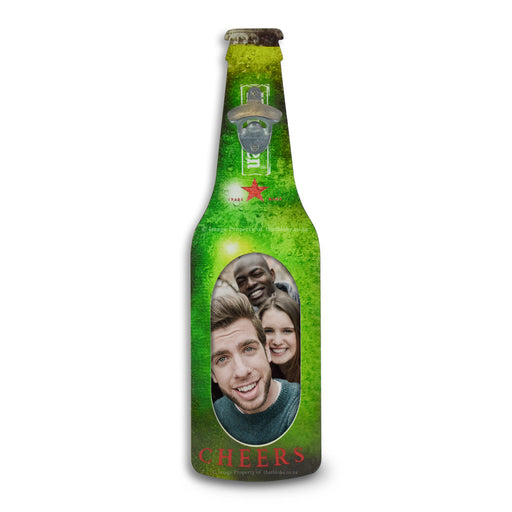 Wall Hanging Beer Bottle Opener - Photo Frame Heineken | That Bloke