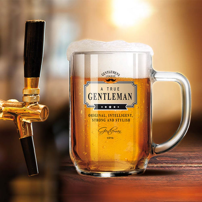 Beer Glass Gentleman Club On Tap