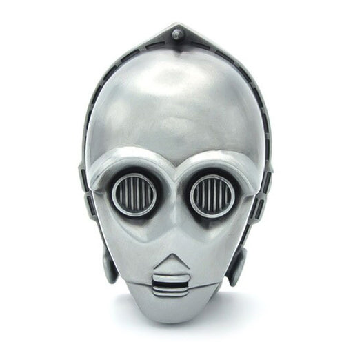 Star Wars Droid C-3PO Belt Buckle Matt Silver