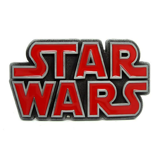 Star Wars Belt Buckle Red Logo