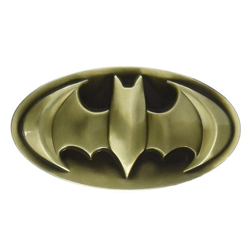 Batman Belt Buckle Bronze Image Front