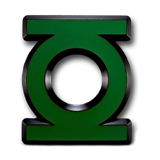 Green Lantern Belt Buckle Superhero Image Front