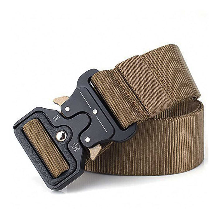 Nylon Belt With Heavy Duty Buckle - Khaki | That Bloke