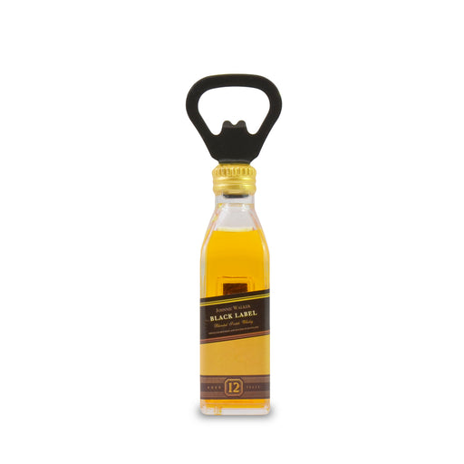 Fridge Magnet Bottle Opener - Johnnie Walker Black Label Whiskey