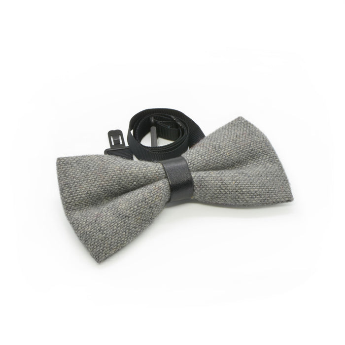 Bow Tie - Grey with Black Loop | That Bloke