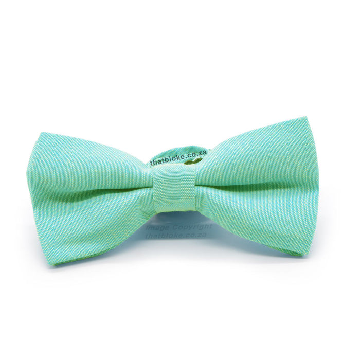 Light Mint Green Bow Tie Front