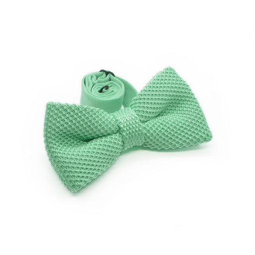 Bow Tie (Knitted) - Mint | That Bloke