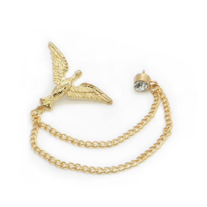 Men's Brooch - Victory Bird (Gold) | That Bloke