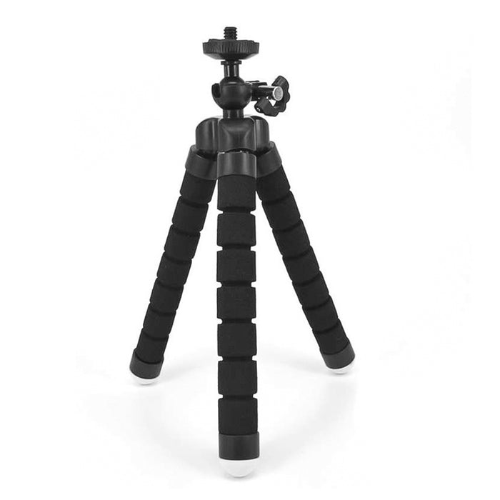Cellphone Octopus Tripod - Black
