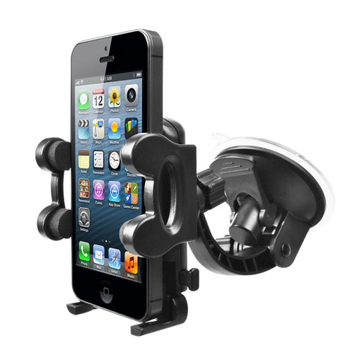 Cellphone Windshield Suction Mount - Black