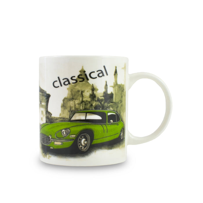 Retro Classic Car Mug - Green | That Bloke