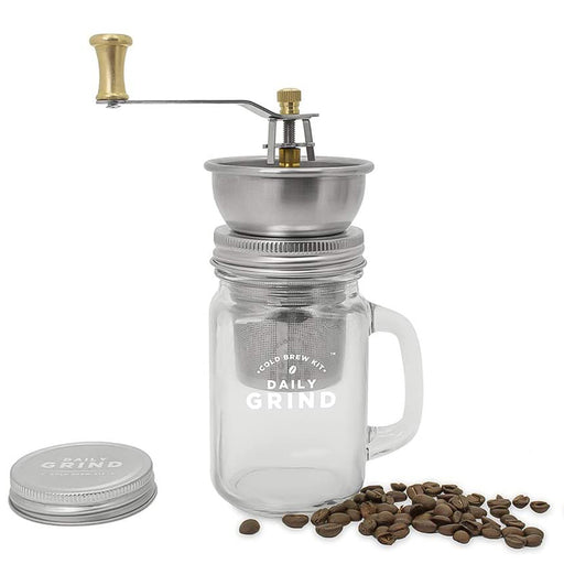 Coffee Grinder Daily Grind Cold Brew Kit Gift Set