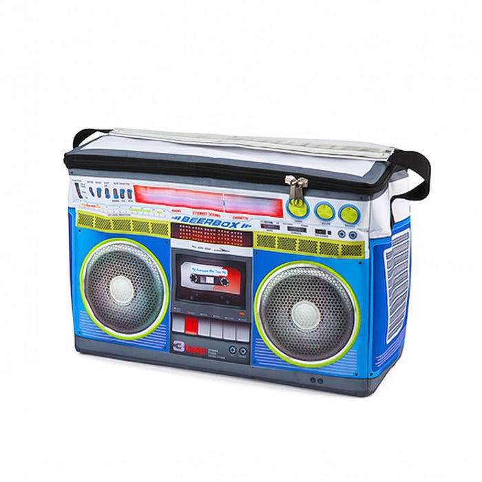 Music Boombox Cooler Bag Image Front