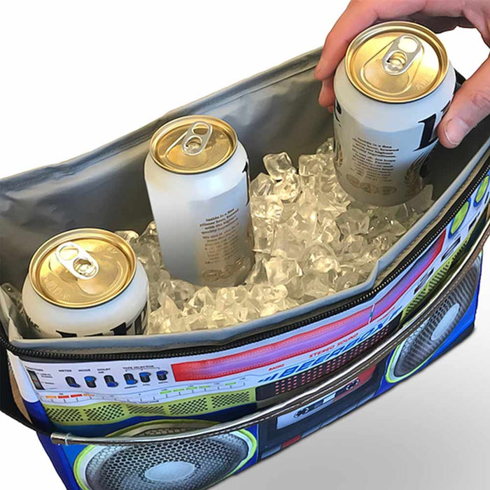 Music Boombox Cooler Bag Image Inside Beverages Ice