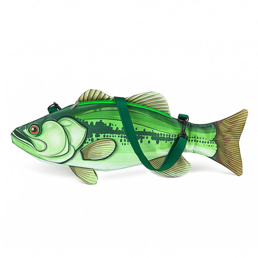 Fish Cooler Bag Fishing Green Image Side