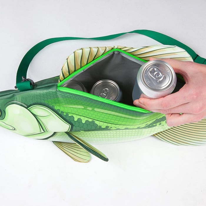 Fish Cooler Bag Fishing Green Image Inside