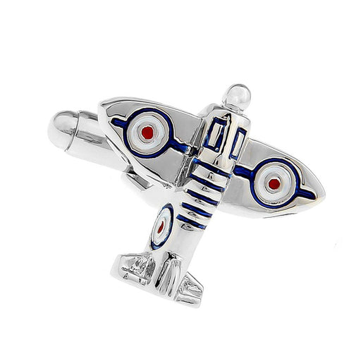 Army War Airplane Cufflinks Image Top