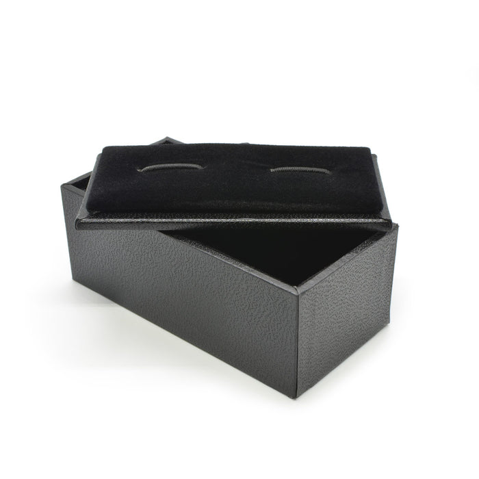 Small Black Cufflink Box