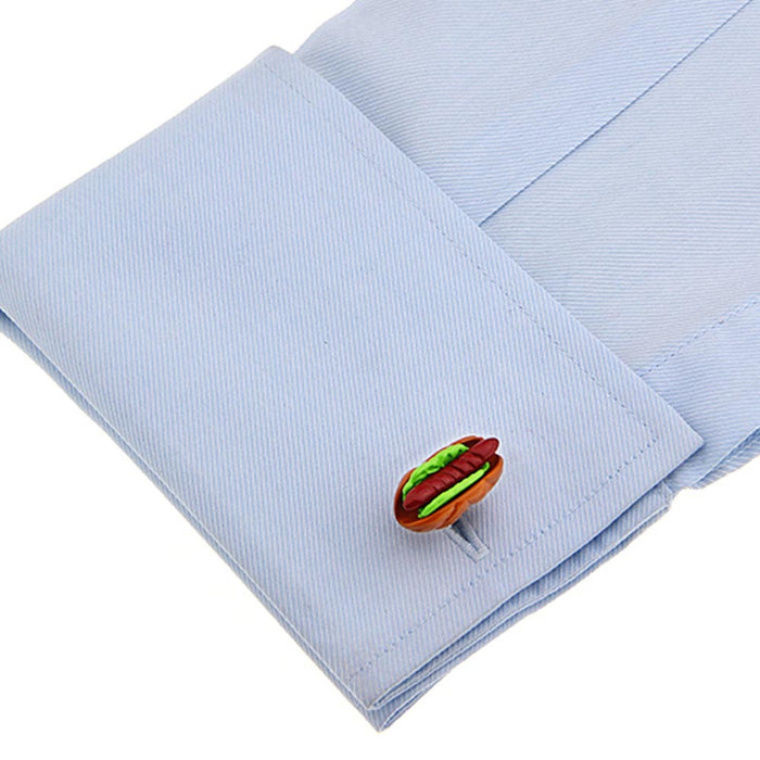 Cufflinks - Hot Dog