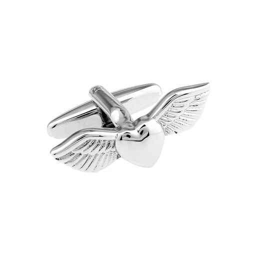Cufflinks - Love Heart with Wings | That Bloke