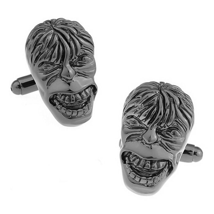 Hulk Cufflinks Gunmetal Black Pair