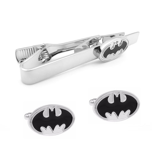 Cufflink And Tie Clip Set Batman Superhero Set